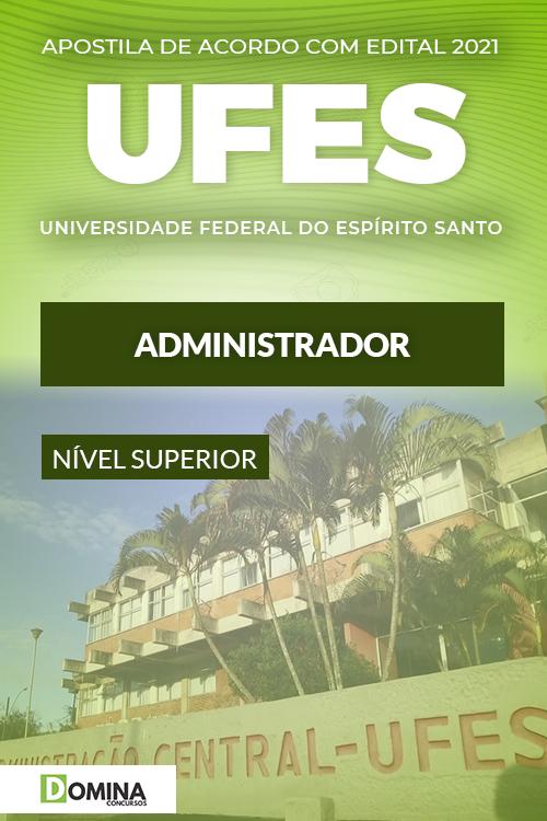 Apostila Concurso Público UFES 2021 Administrador