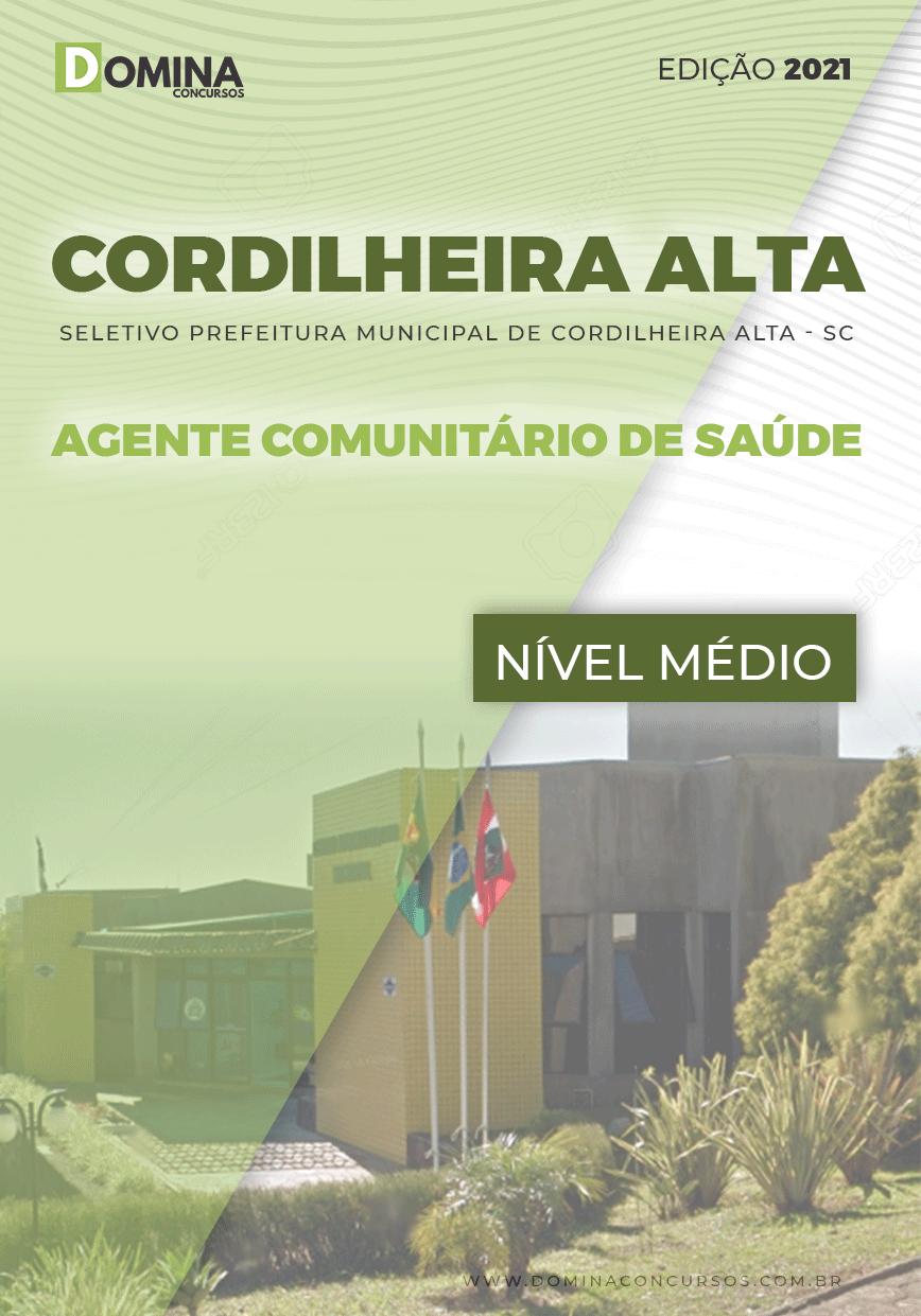 Apostila Pref Cordilheira Alta SC 2021 Agente Comunitário Saúde
