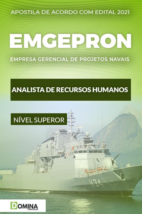 Apostila Concurso EMGEPRON 2021 Analista de Recursos Humanos
