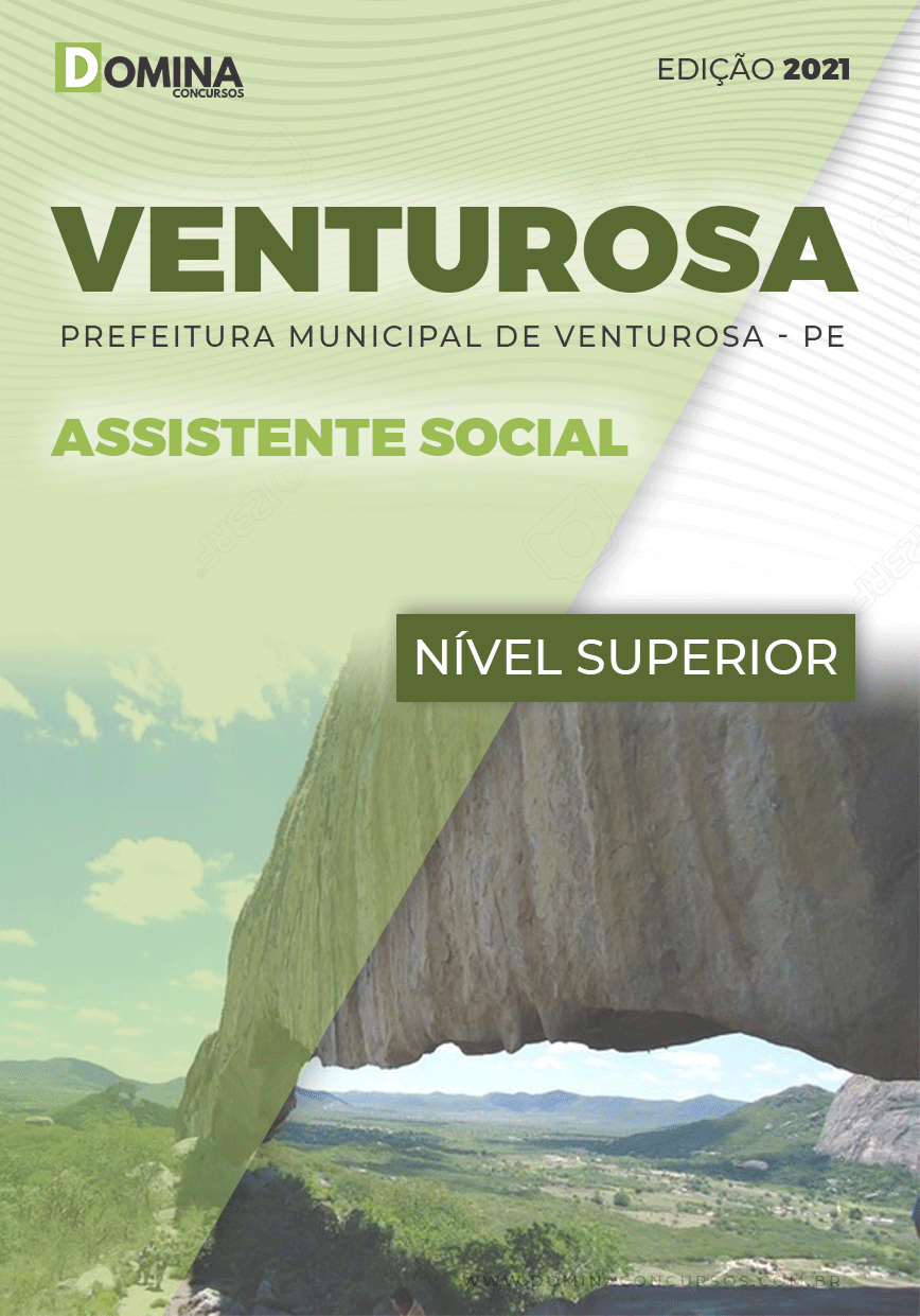Apostila Concurso Pref Venturosa PE 2021 Assistente Social