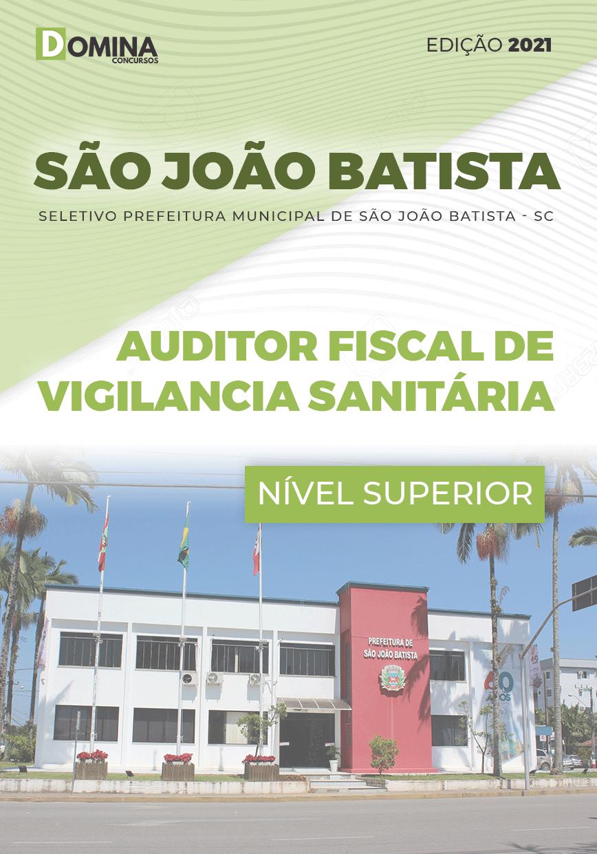 Apostila São João Batista SC 2021 Auditor Fiscal Vigilância