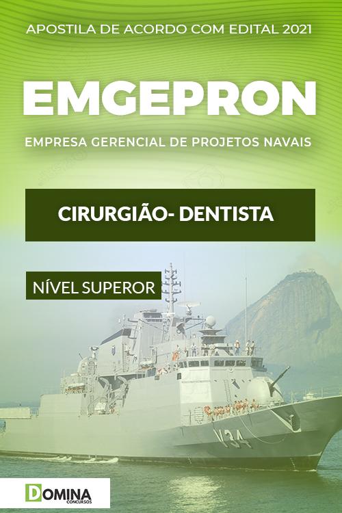Apostila Concurso Público EMGEPRON 2021 Cirurgião Dentista