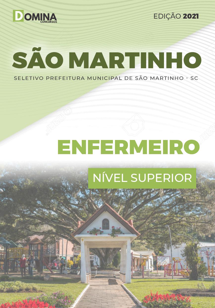 Apostila Concurso São Martinho SC 2021 Enfermagem