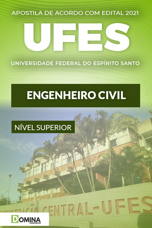 Apostila Concurso Público UFES 2021 Engenheiro Civil