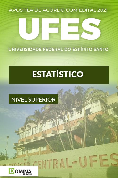 Apostila Concurso Público UFES 2021 Estatístico