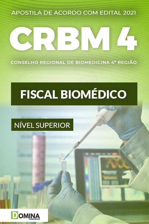 Apostila Concurso Público CRBM 4 2021 Fiscal Biomédico