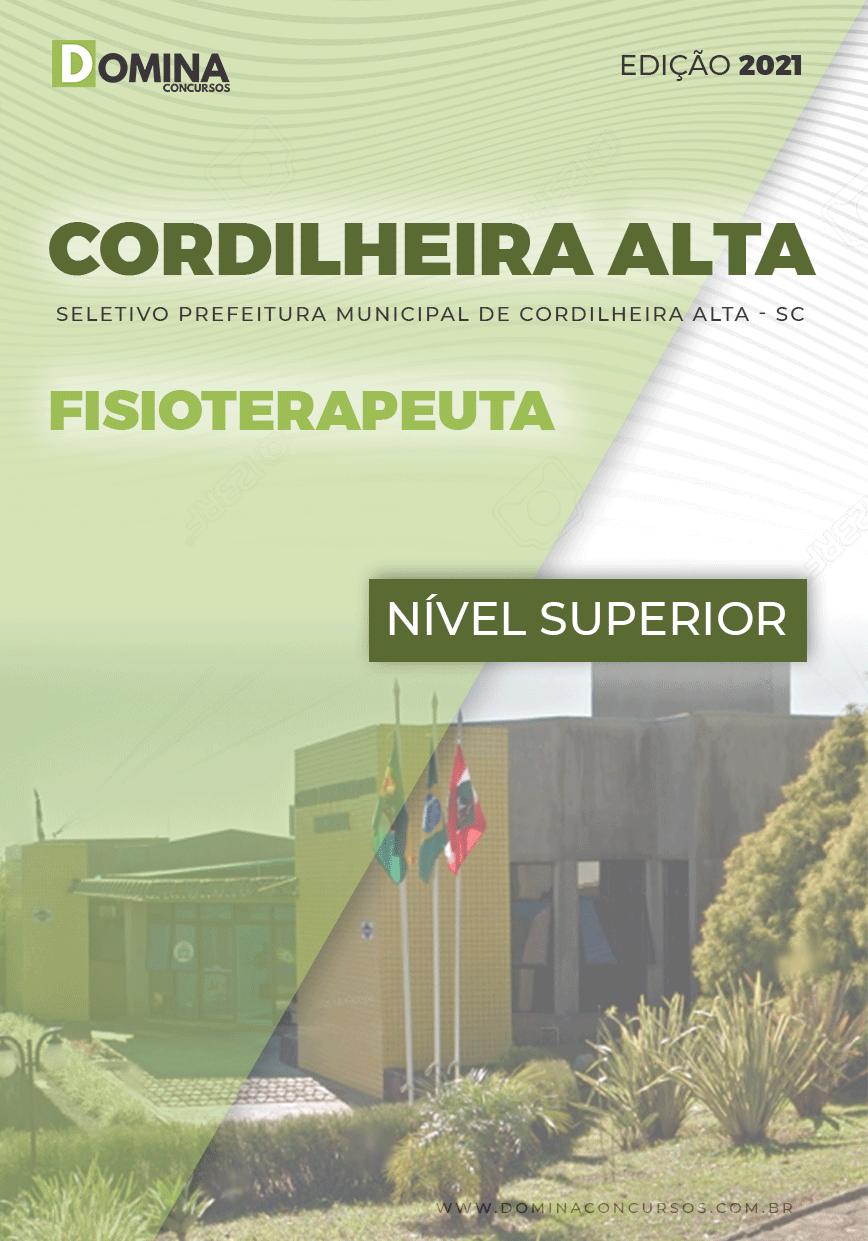 Apostila Seletivo Pref Cordilheira Alta SC 2021 Fisioterapeuta