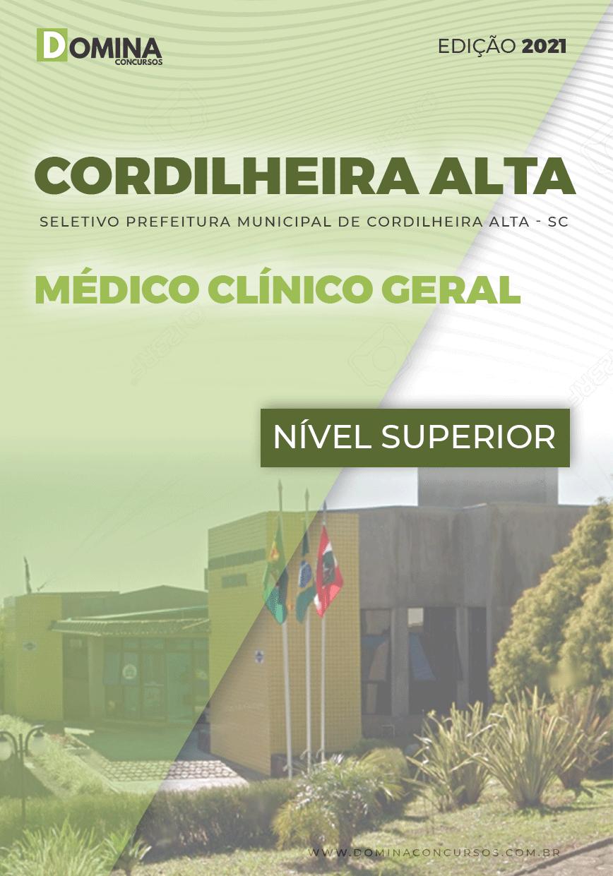 Apostila Pref Cordilheira Alta SC 2021 Médico Clínico Geral
