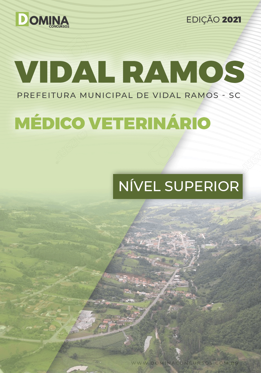Apostila Concurso Pref Vidal Ramos SC 2021 Médico Veterinário