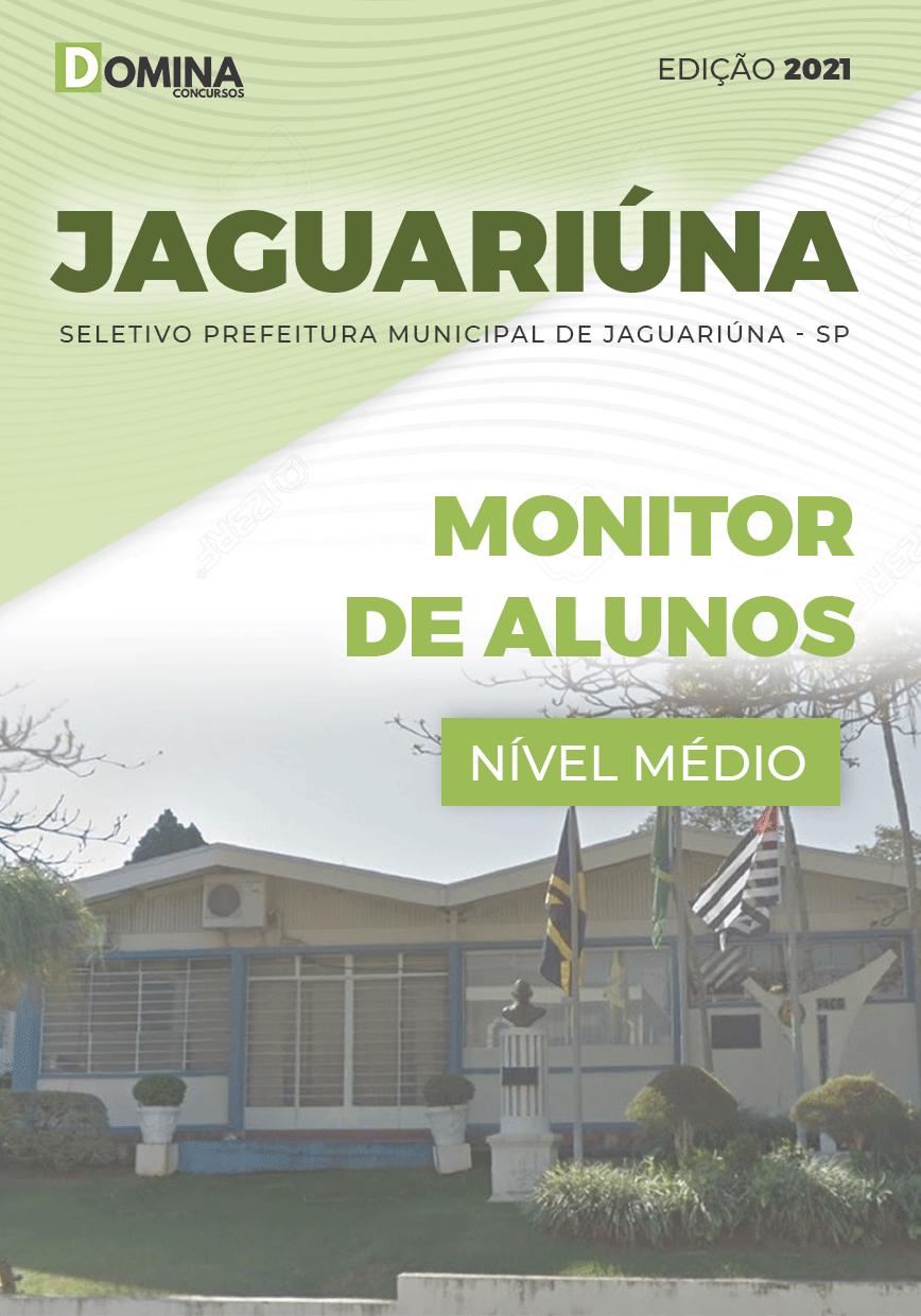 Apostila Seletivo Pref Jaguariúna SP 2021 Monitor de Alunos