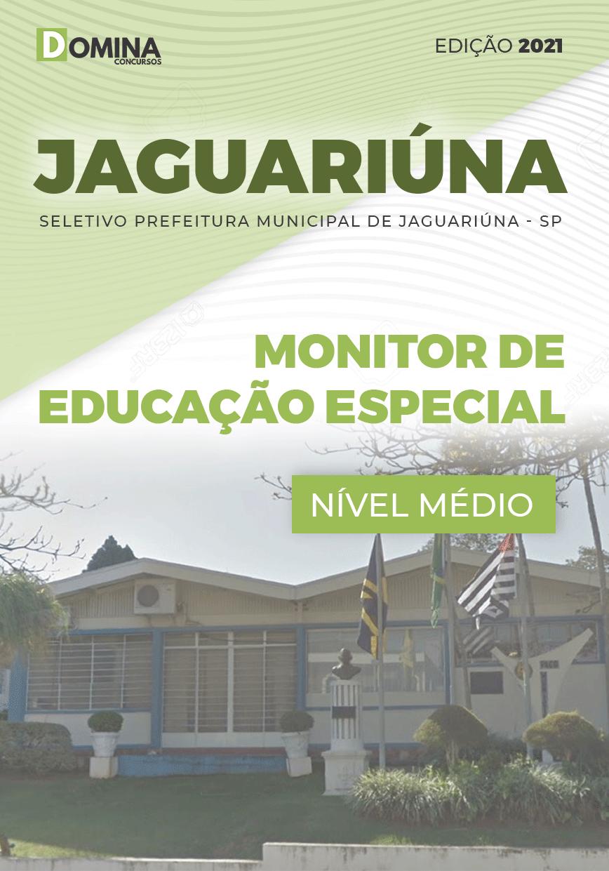 Apostila Pref Jaguariúna SP 2021 Monitor de Educação Especial