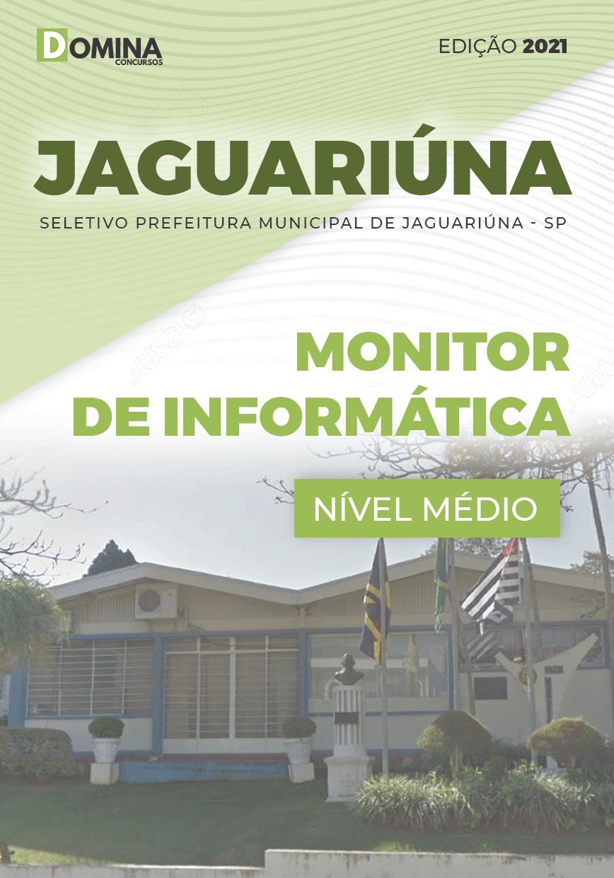 Apostila Pref Jaguariúna SP 2021 Monitor de Informática