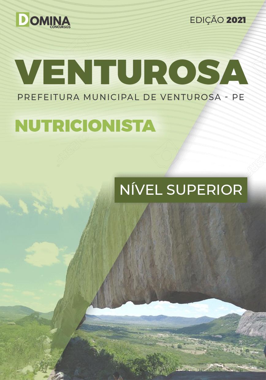 Apostila Concurso Pref Venturosa PE 2021 Nutricionista