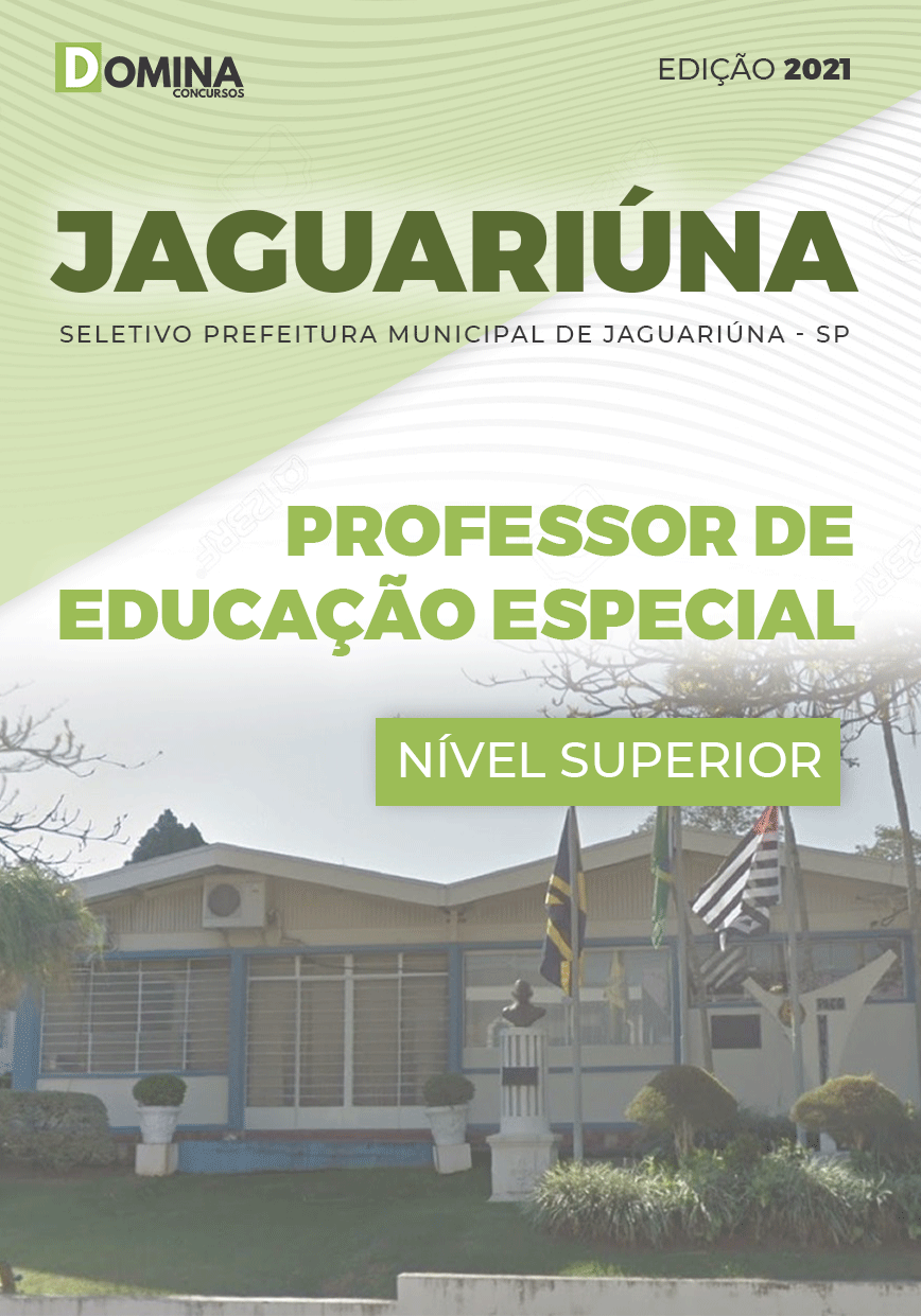 Apostila Pref Jaguariúna SP 2021 Professor de Educação Especial