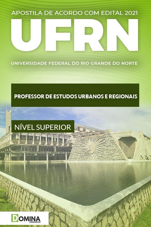 Apostila Concurso UFRN 2021 Estudos Urbanos e Regionais