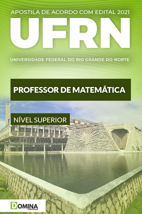 Apostila Concurso UFRN 2021 Professor de Matemática