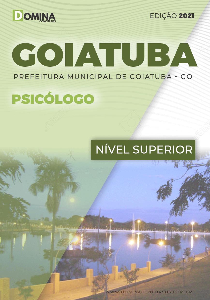 Apostila Concurso Pref Goiatuba GO 2021 Psicólogo