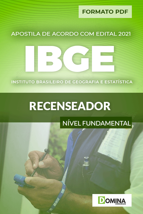 Apostila Concurso Público IBGE 2021 Recenseador