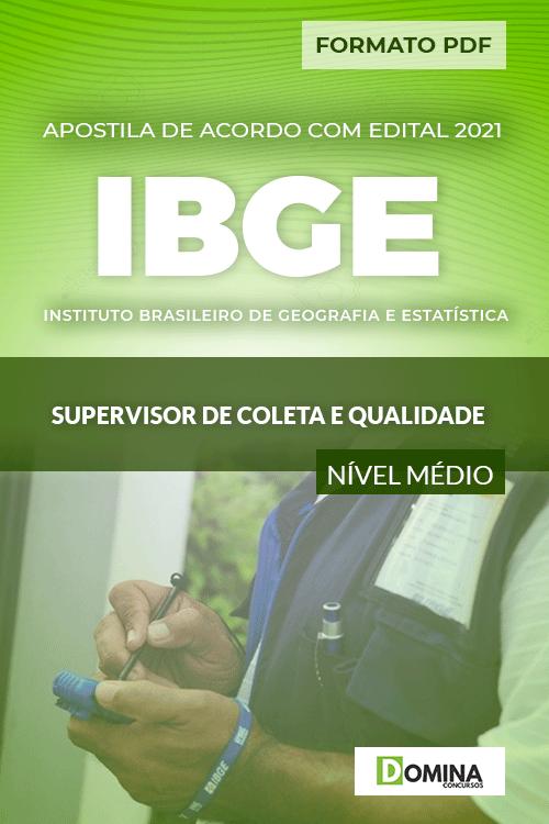 Apostila Concurso IBGE 2021 Supervisor de Coleta e Qualidade