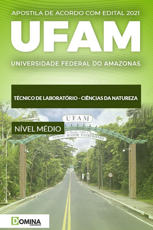 Apostila UFAM 2021 Técnico de Laboratório Ciências da Natureza