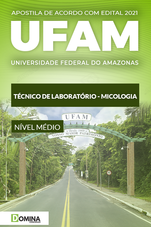 Apostila Concurso UFAM 2021 Técnico de Laboratório Micologia