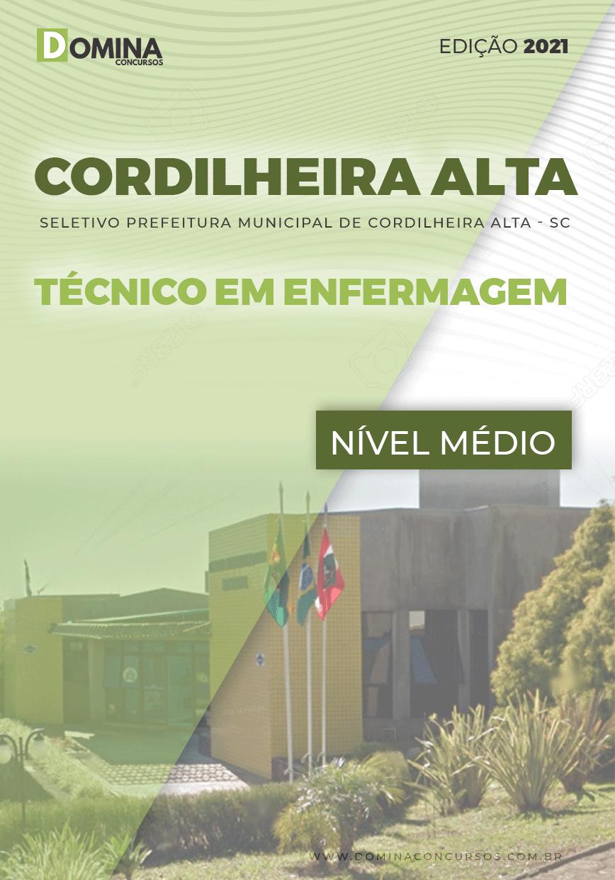 Apostila Pref Cordilheira Alta SC 2021 Técnico em Enfermagem