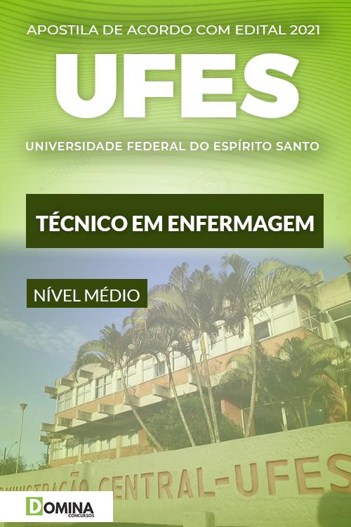 Apostila Concurso UFES 2021 Técnico em Enfermagem