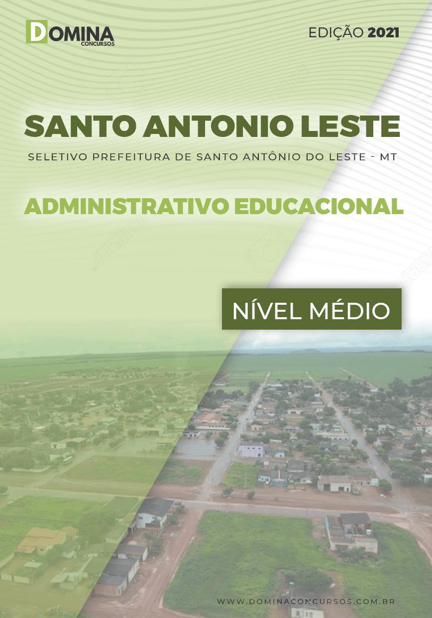 Apostila Santo Antônio do Leste MT 2021 Apoio Educacional