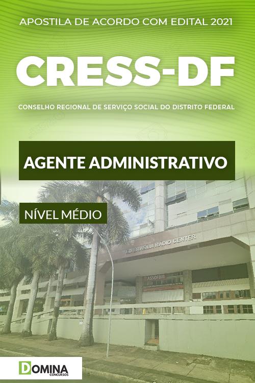 Apostila Concurso CRESS DF 2021 Agente Administrativo