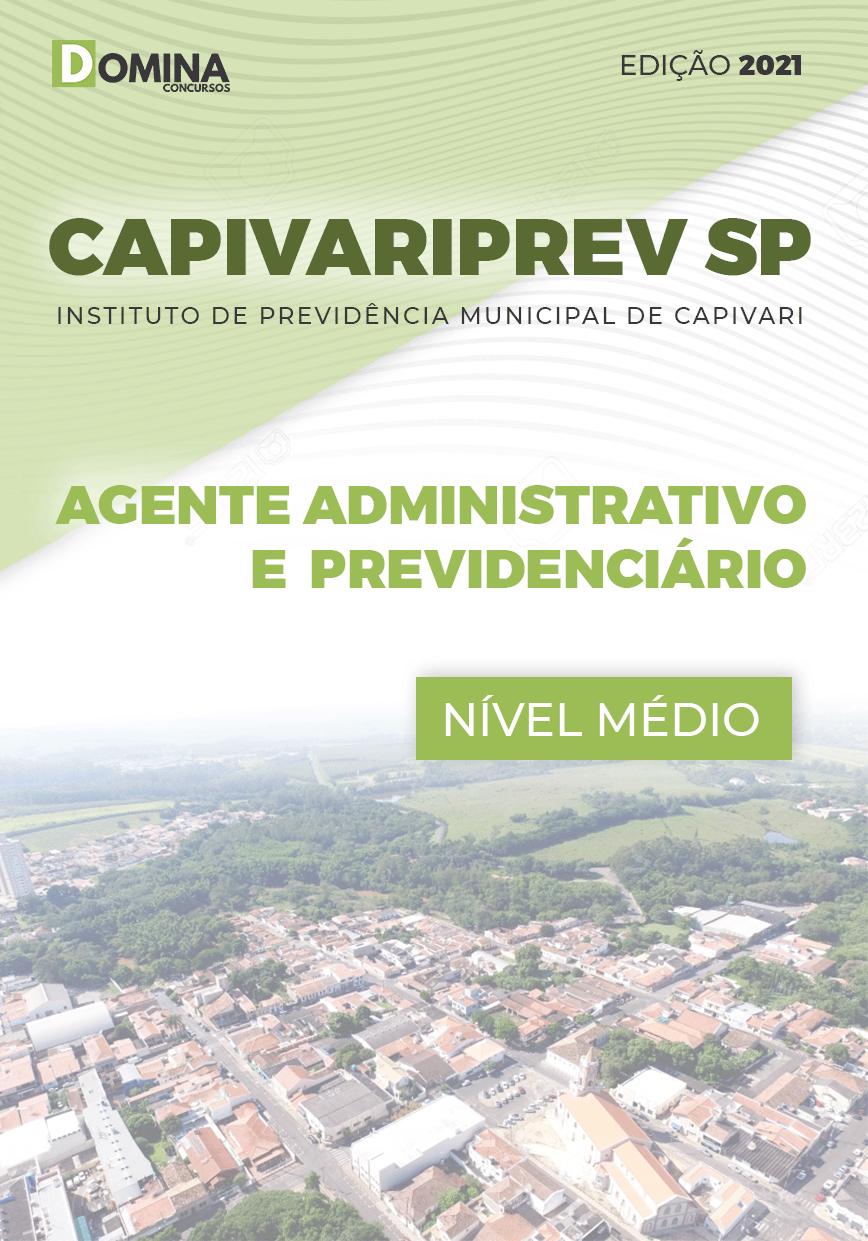 Apostila CAPIVARIPREV SP 2021 Agt Administrativo Previdenciário
