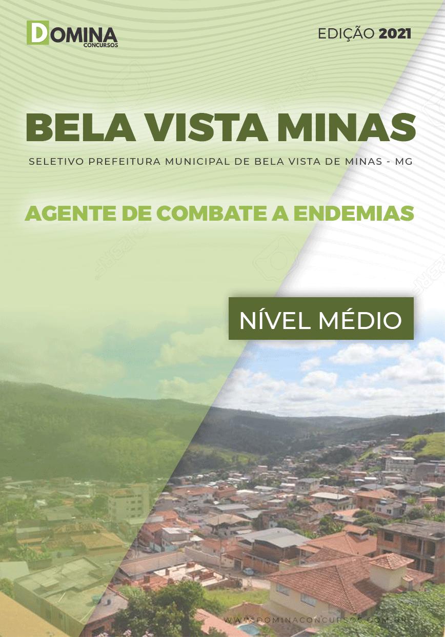 Apostila Bela Vista Minas MG 2021 Agente Combate Endemias