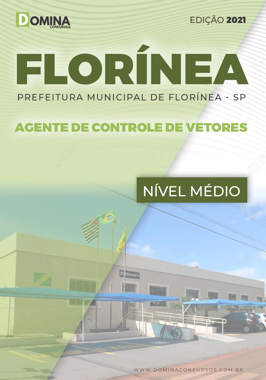 Apostila Pref Florínea SP 2021 Agente Controle de Vetores