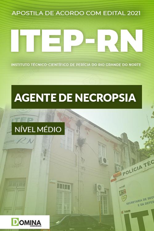 Apostila Concurso ITEP RN 2021 Agente de Necropsia