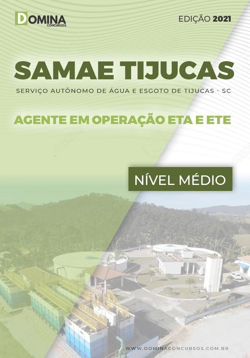 Apostila Samae Tijucas SC 2021 Agente de Operação ETA ETE