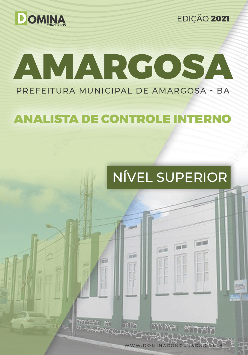 Apostila Amargosa BA 2021 Analista de Controle Interno