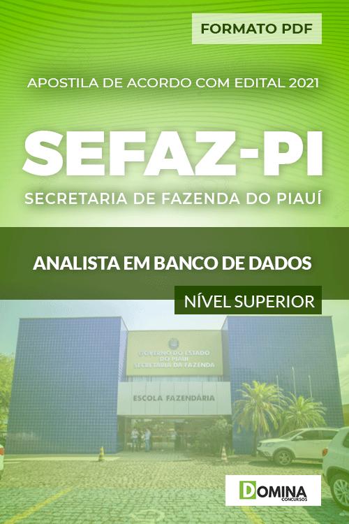 Apostila Concurso SEFAZ PI 2021 Analista Banco Dados