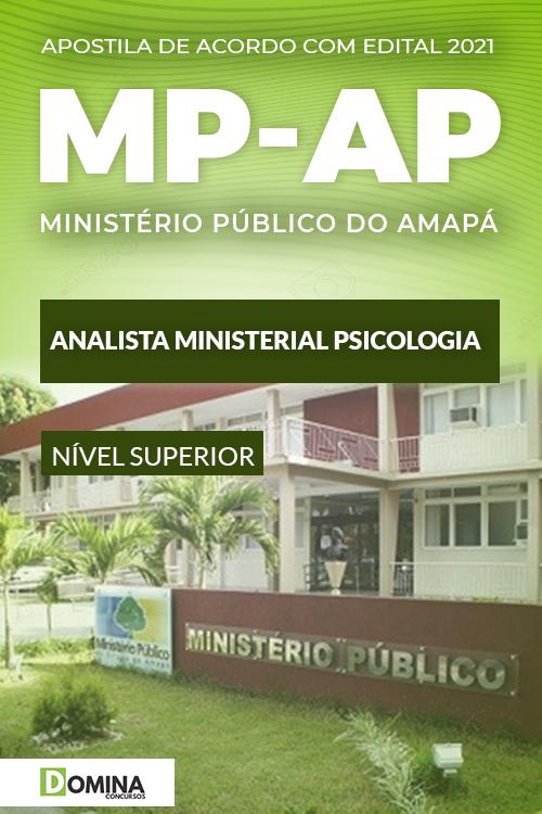 Apostila Concurso MP AP 2021 Analista Ministerial Psicólogo