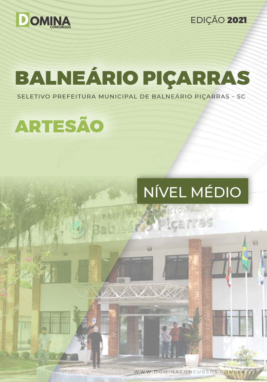 Apostila Seletivo Pref Balneário Piçarras SC 2021 Artesão