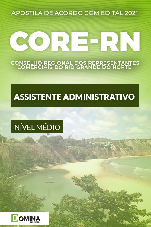 Apostila Concurso CORE RN 2021 Assistente Administrativo