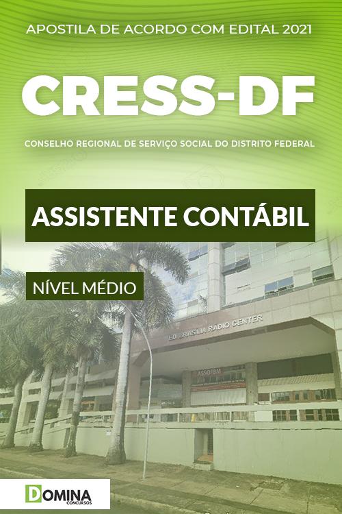 Apostila Concurso CRESS DF 2021 Assistente Contábil