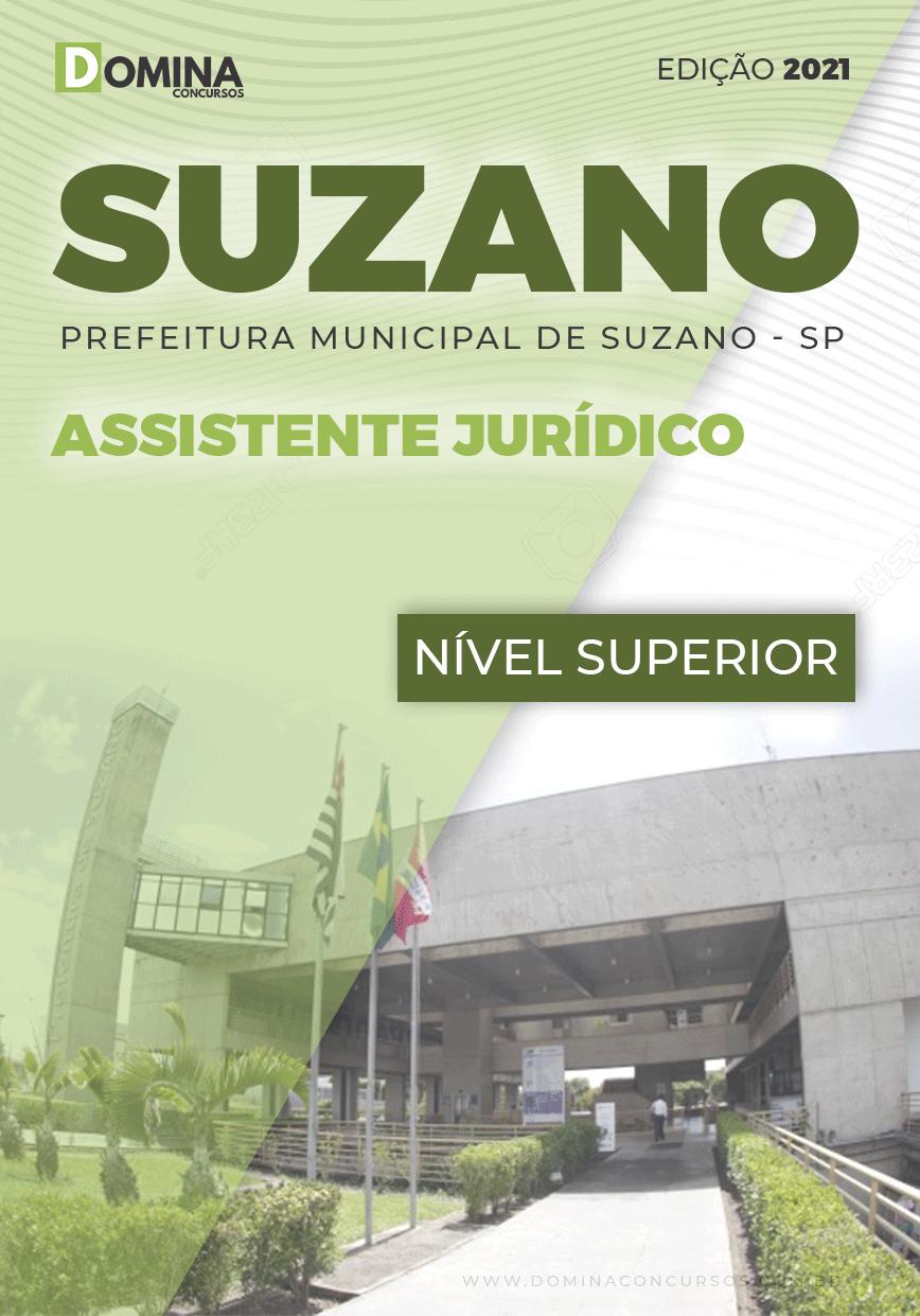 Apostila Prefeitura Suzano SP 2021 Assistente Jurídico