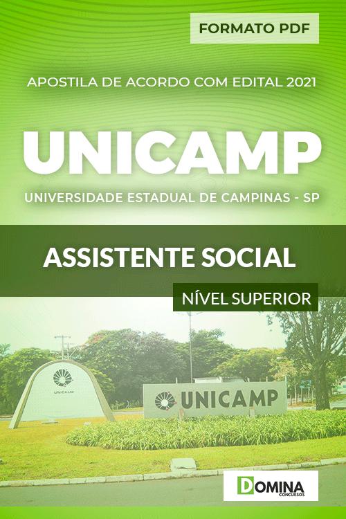 Apostila Concurso UNICANP 2021 Assistente Social