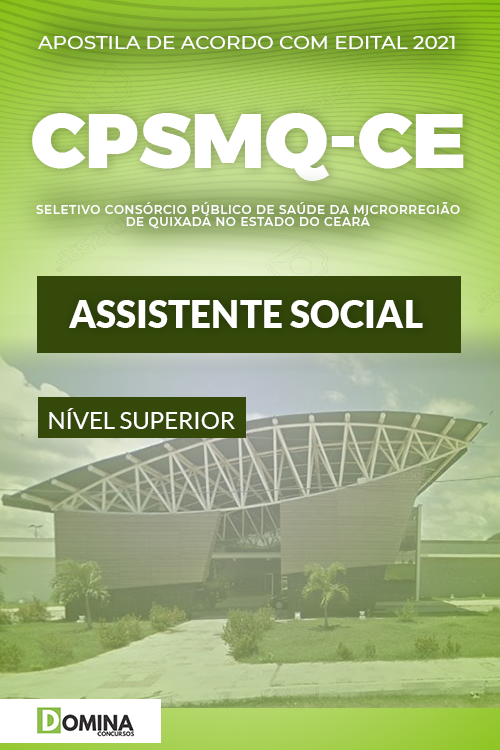 Apostila Quixadá CPSMQ CE 2021 Assistente Social