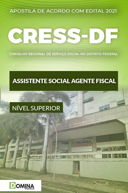 Apostila CRESS DF 2021 Agente Fiscal Assistente Social