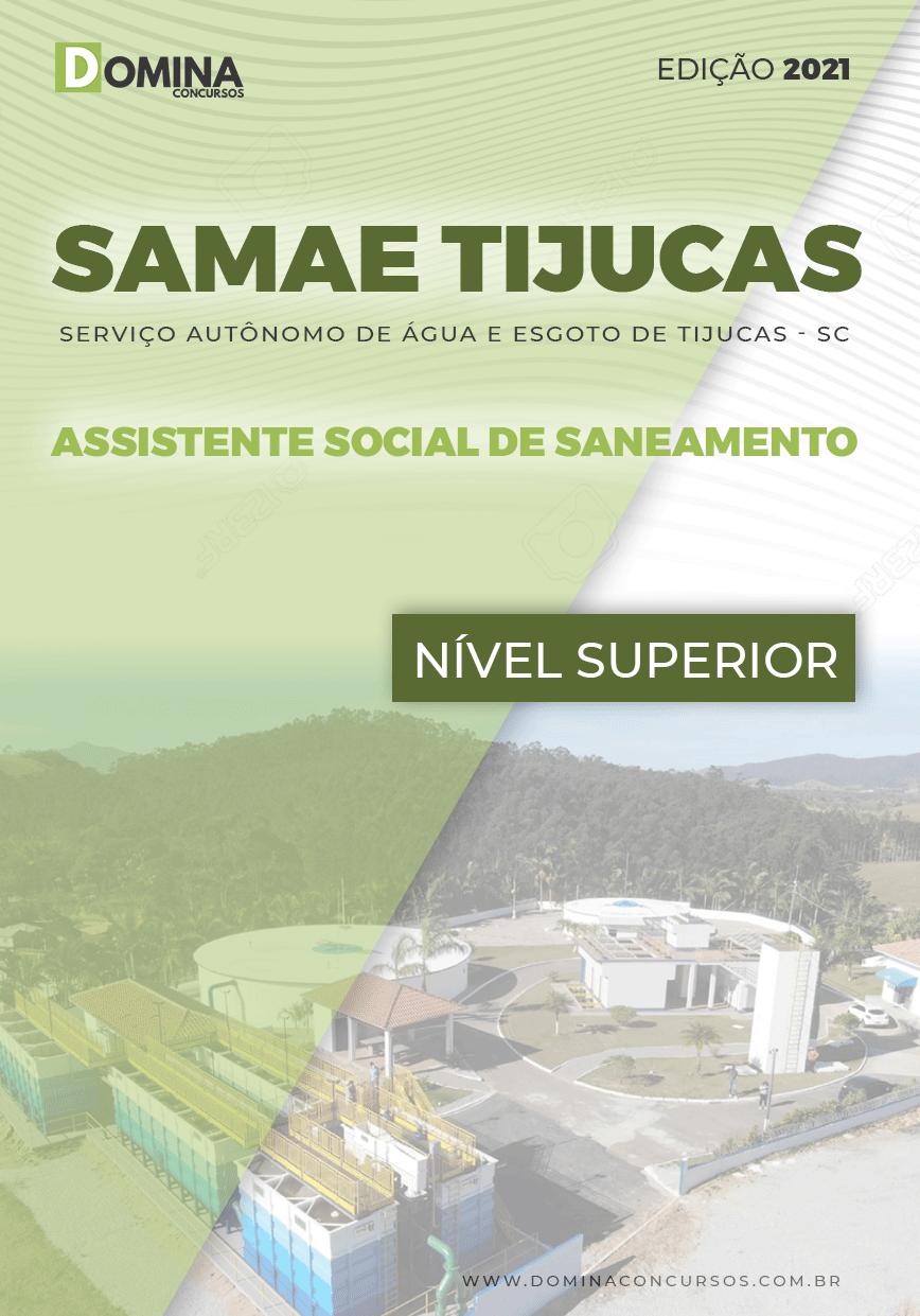 Apostila Samae Tijucas SC 2021 Assistente Social Saneamento