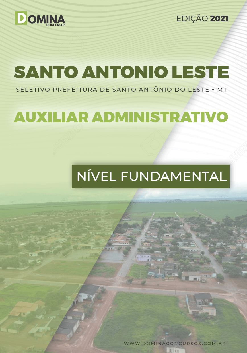 Apostila Santo Antônio do Leste MT 2021 Nível Fundamental