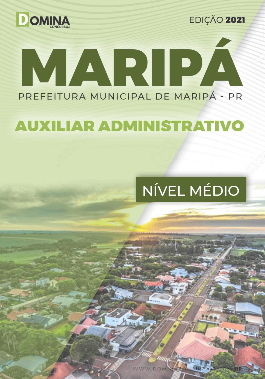Apostila Concurso Maripá PR 2021 Auxiliar Administrativo