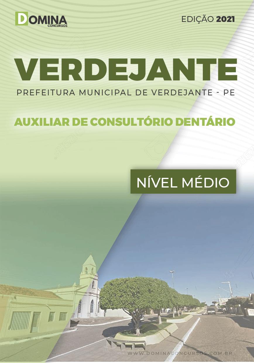 Apostila Verdejante PE 2020 Auxiliar Consultório Dentário