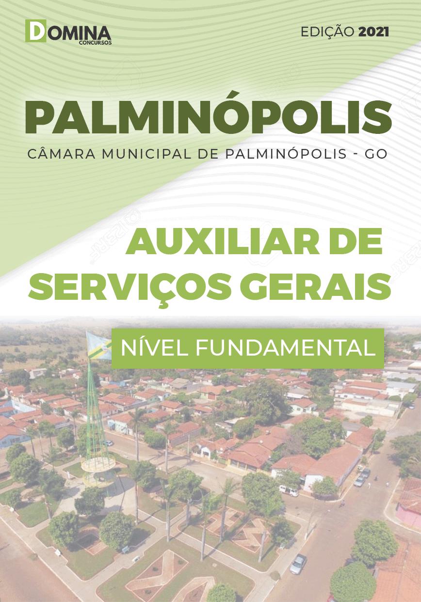 Apostila Câmara Palminópolis GO 2021 Auxiliar de Serviços Gerais