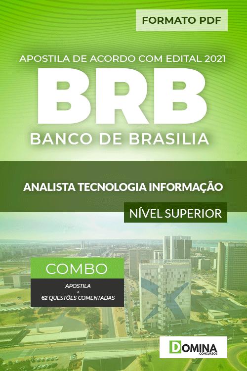 Apostila Concurso BRB 2021 Analista Tecnologia Informação